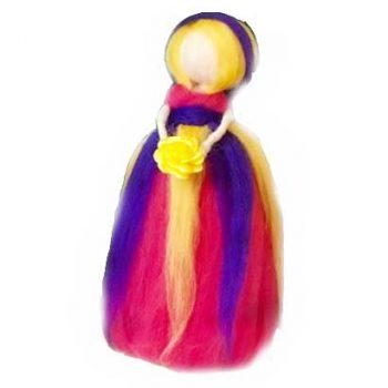 عروسک الیافی کچه دامن پفی گالری شهرزاد اسدی