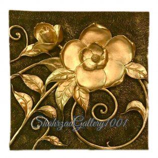 تابلو گل برجسته گالری شهرزاد اسدی