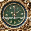 ساعت دیواری کلاسیک - ساعت ، آینه و شمعدان