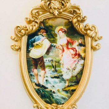 تابلو مخمل عشق در پاریس