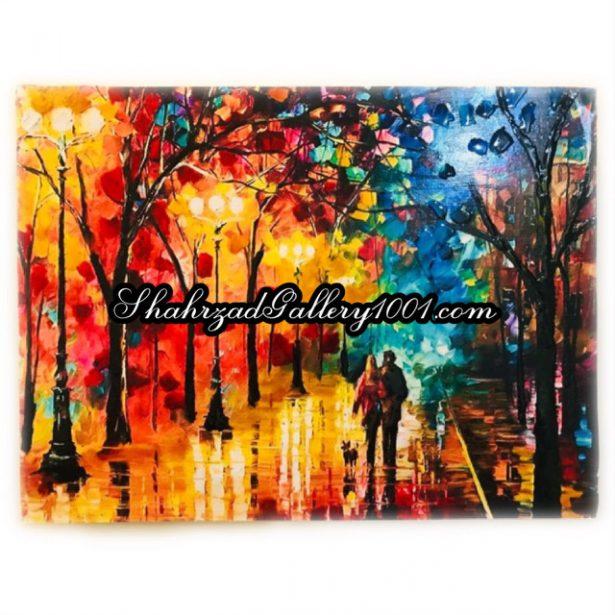 تابلو تیناب باران پاییزی