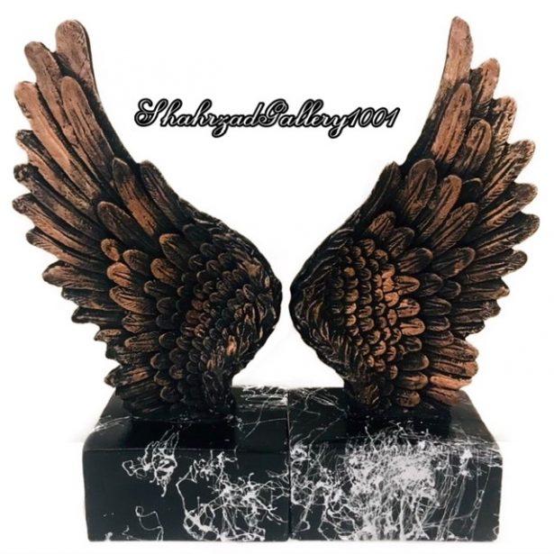 نگهدارنده کتاب طرح بال فرشته