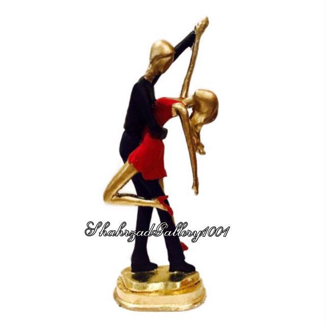مجسمه عاشقانه رقص رمانتیک