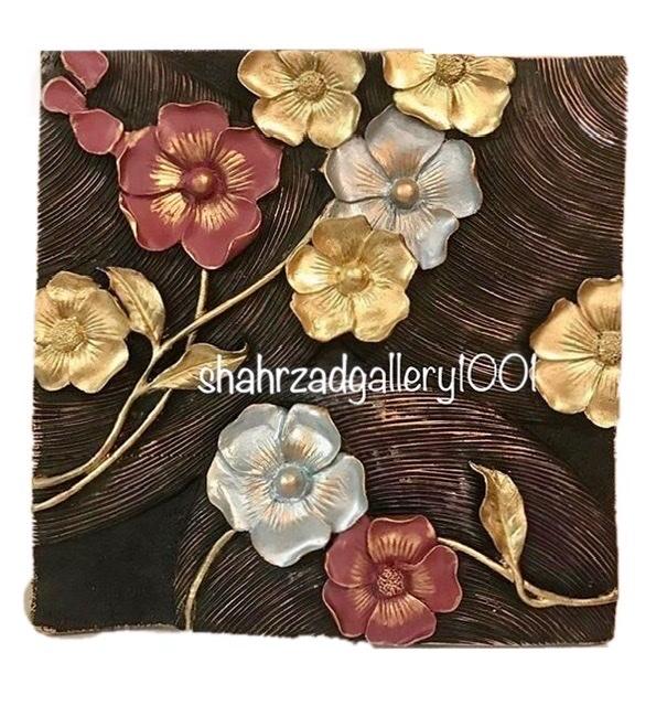 تابلو گلهای رنگارنگ