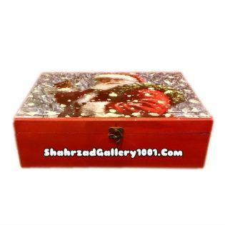 جعبه برفی بابانوئل - جعبه هدیه بابانوئل