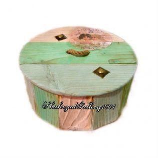 جعبه چوبی پتینه روسی