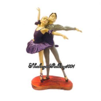 مجسمه عاشقانه رقص باله گالری شهرزاد ۱۰۰۱