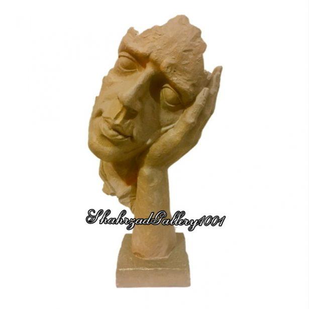 مجسمه طرح صورت گالری شهرزاد 1001