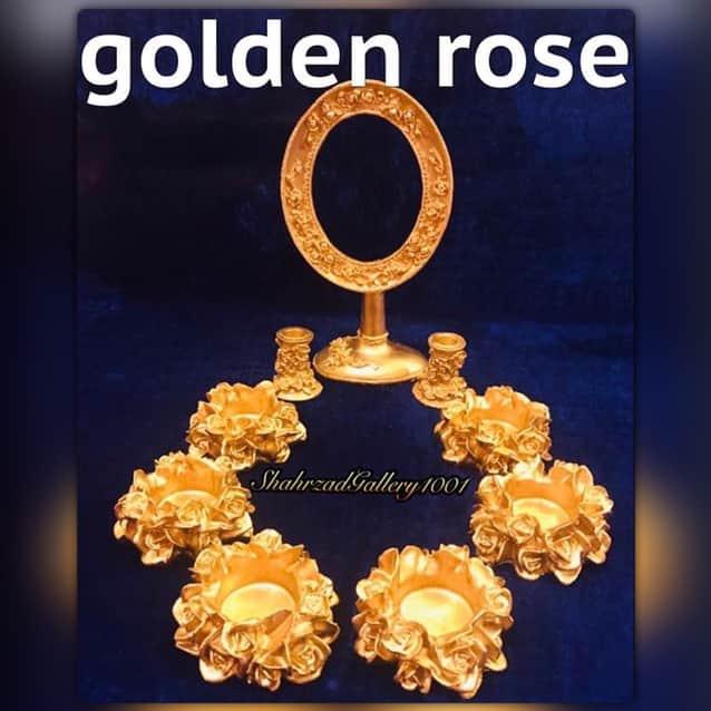 ست هفت سین رز طلایی گالری شهرزاد