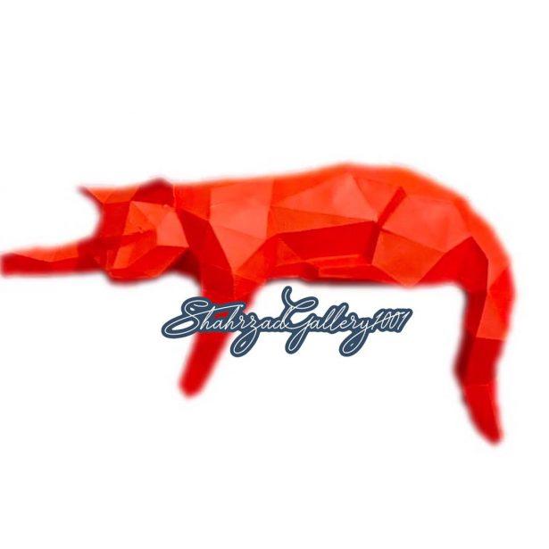 مجسمه گربه سه بعدی گالری شهرزاد