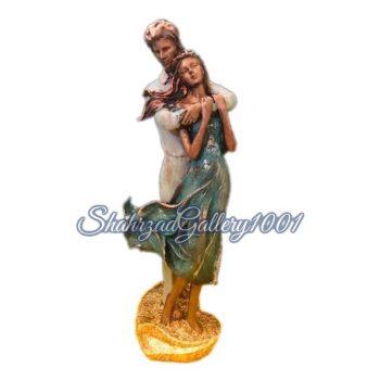 مجسمه دختر و پسر عاشق گالری شهرزاد اسدی