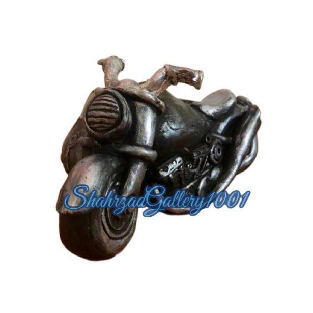 مجسمه موتور سیکلت کلاسیک