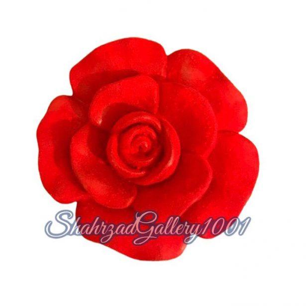 مجسمه گل رز گالری شهرزاد