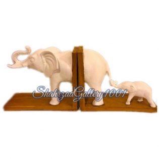 مجسمه نگهدارنده کتاب طرح فیل گالری شهرزاد