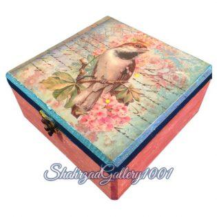 جعبه هنری طرح گنجشک گالری شهرزاد اسدی