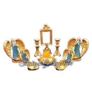 ست هفت سین طرح فرشته و دعا گالری شهرزاد اسدی