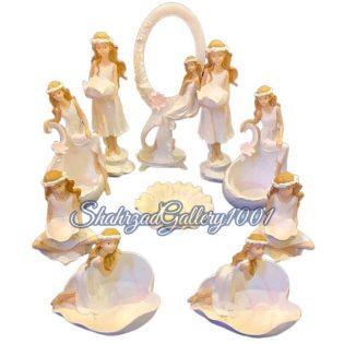 ست هفت سین فرشته های زیبا گالری شهرزاد اسدی