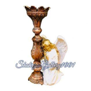 شمعدان مجسمه ای طرح فرشته گالری شهرزاد اسدی