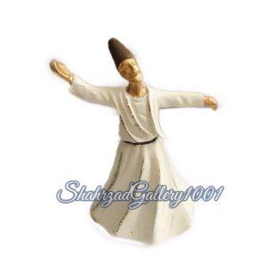 مجسمه رقص سماع مولانا گالری شهرزاد اسدی