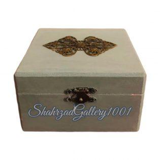 جعبه چوبی کادویی گالری شهرزاد اسدی