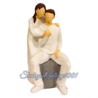 مجسمه عشق زندگی گالری شهرزاد اسدی